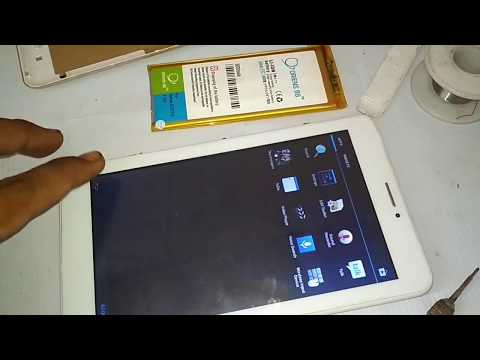 Tutorial ganti batre TABLET ADVAN T1J