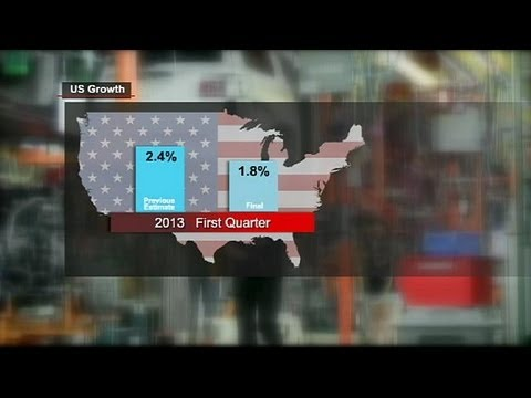 US first-quarter growth was 1.8%, not 2.4% - economy
