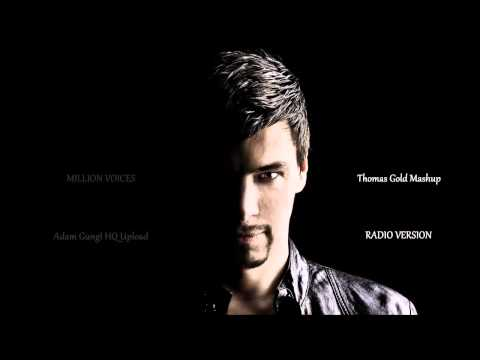 Otto Knows/Coldplay/One Republic - Million Voices (Thomas Gold Mashup) - HQ Radio cut