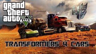GTA 5 Transforming Cars