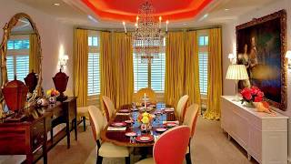 Festive Orange Dining Rooms Full of Vivacious Spunk