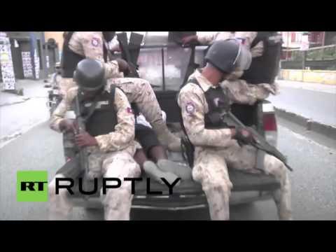 Haïti : la police tire à balle réelle sur les manifestants