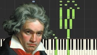 Beethoven: Piano Sonata No.3, Op.2 No.3, 3rd Movement (Scherzo) | [Piano Tutorial] - Synthesia