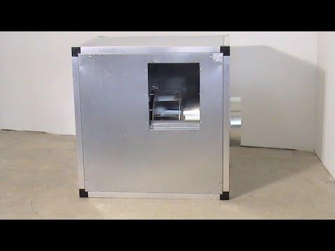Απορροφητήρας-Μοτέρ σε Ηχομονωμένο Κιβώτιο 3 HP Acoustic Kitchen Extract Fans 1400 RPM 4 Pole