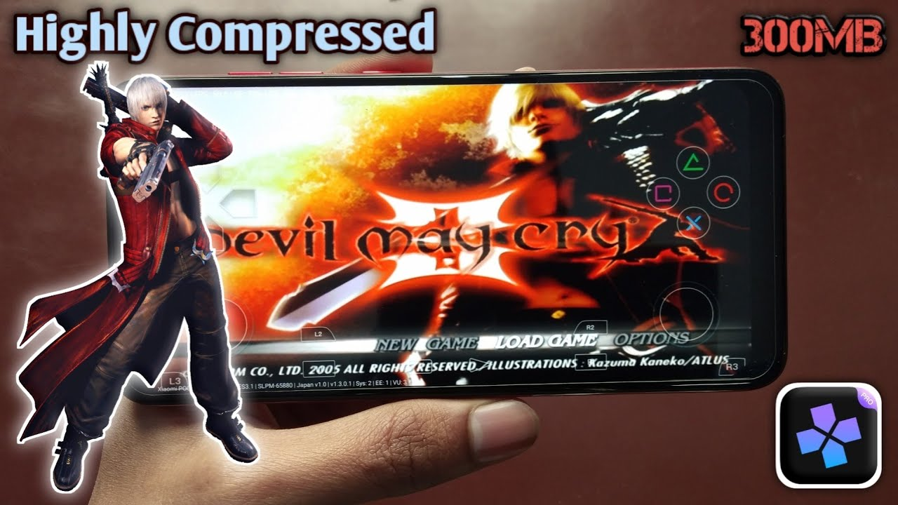Devil May Cry 3 Highly compressed ps2 iso | HD gameplay