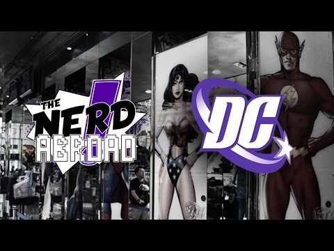 DC COMICS ART EXHIBIT - Paris, France | The Nerd Abroad