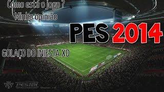 Pro Evolution Soccer 2014 - Gameplay Comentada - PC PT BR