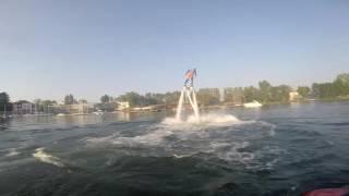 Flyboard® – ewolucje na wodzie w Olsztynie video