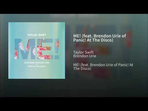 Taylor Swift - ME! Feat. Brendon Urie of Panic! At The Disco (Audio)