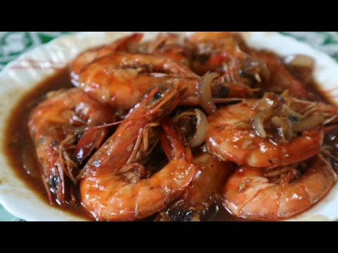SHRIMP WITH OYSTER SAUCE ( SHRIMP RECIPE)