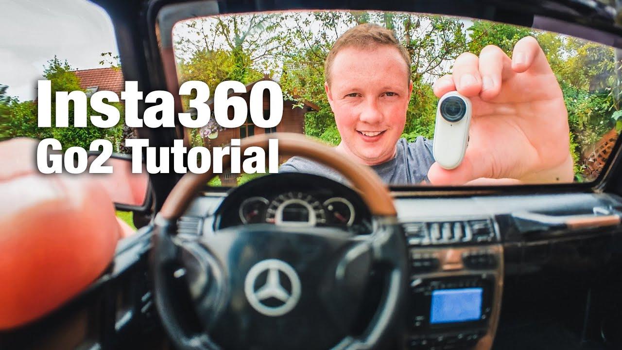 Insta360 Go 2 + RC Auto - Tutorial: So machst Du FPV Aufnahmen mit der kleinen Action-Kamera