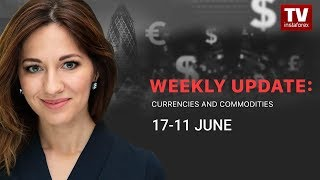 InstaForex tv news: Market dynamics: currencies and commodities (June 17 - 21)