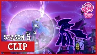 Luna Defeats The Tantabus (Do Princesses Dream of Magic Sheep?) | MLP: FiM [HD] thumbnail