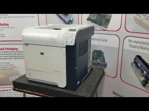 How to Install HP P4014 P4015 P4515 Fuser Maintenance Kit CB388A CB388-67901 RM1-4554