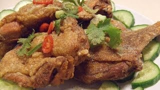 Crispy Duck (and Chicken) With 5 Spice Powder. 脆皮鴨(雞) Taiwan Style.