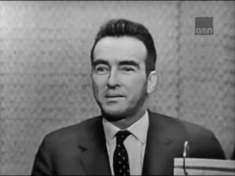 What's My Line?  Montgomery Clift; Peter Cook panel Jan 20, 1963