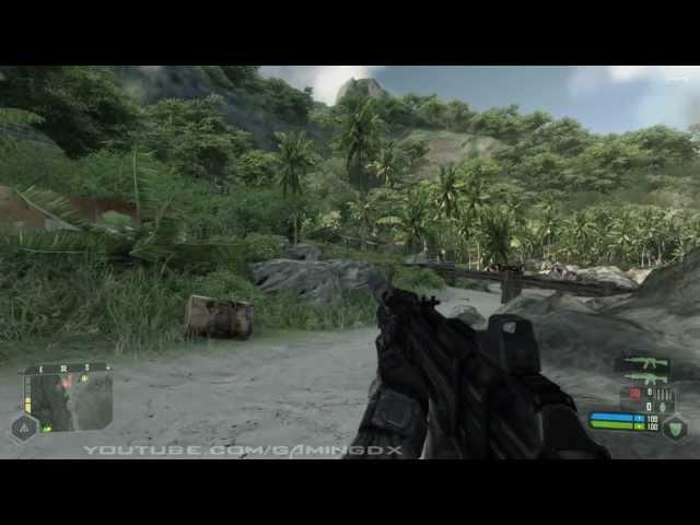 GTX 560 (Non TI) Crysis Benchmark / Gameplay HD
