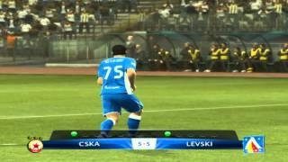 PES 2013 CSKA Sofia - Levski Sofia (penalties)