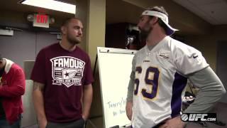 UFC on FX 5: Travis Browne Visits the Vikings