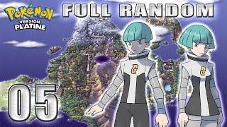 Pokémon Platine [Full Random] n°5 - La Team voleuse de miel attaque !!!