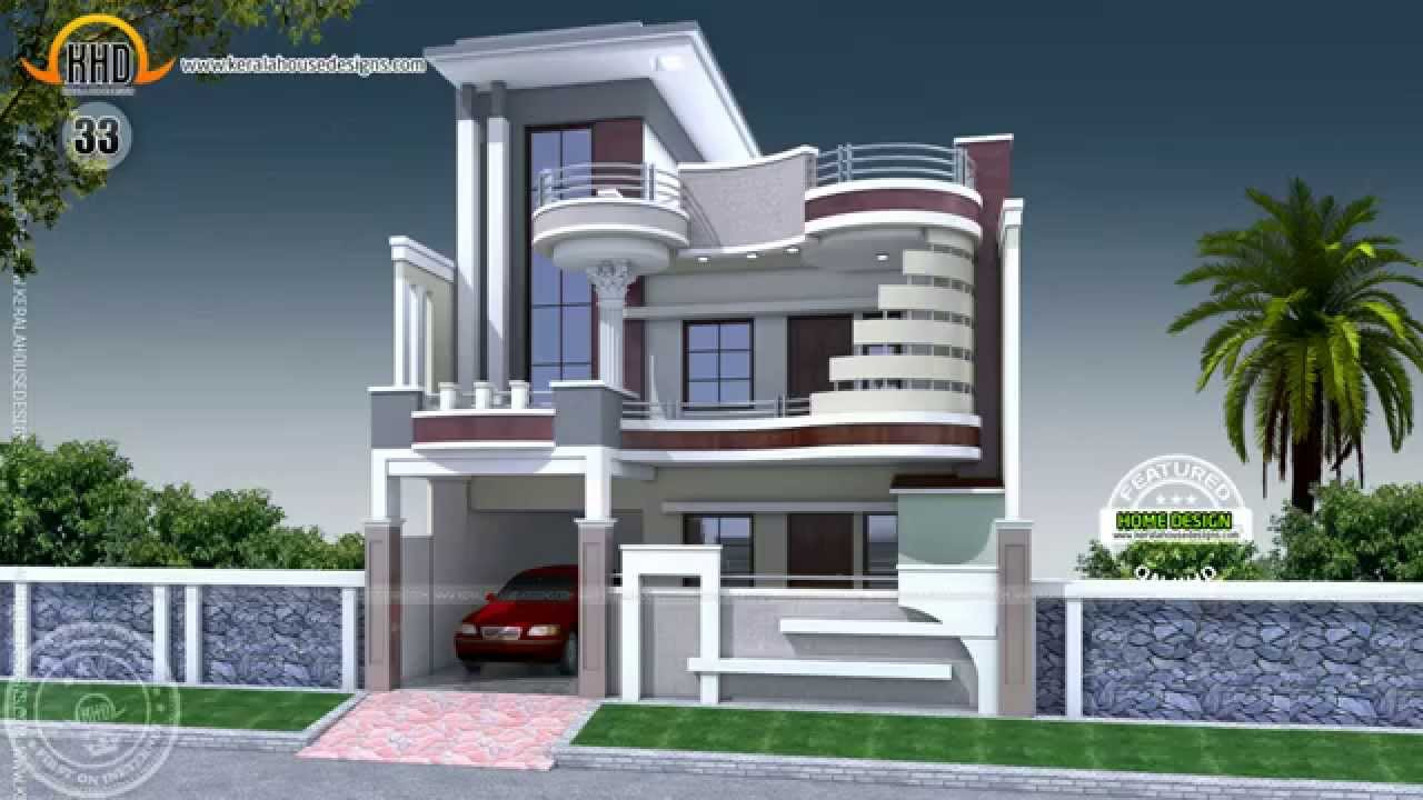 House Desing house designs of july 2014 - youtube
