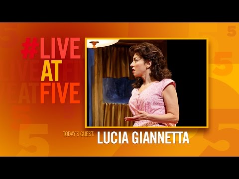 Broadway.com #LiveatFive with Lucia Giannetta of A BRONX TALE
