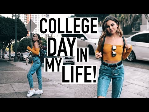 A DAY IN MY LIFE AS A COLLEGE STUDENT IN LA (what i eat/my workout) | Liv Vargus
