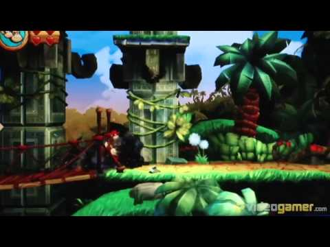 Donkey Kong Country Returns: Gamescom Gameplay Footage