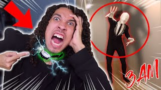 *INSANE* I FORCED EVIL GRAPHNIX TO SUMMON SLENDERMAN AT 3 AM!! (HE'S FIGHTING FOR HIS FREEDOM!!)
