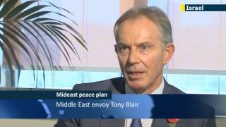 Blair calls for peace talks after Obama win