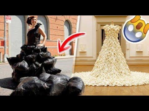top 12 vestidos de novias más originales y raros del mundo | dato