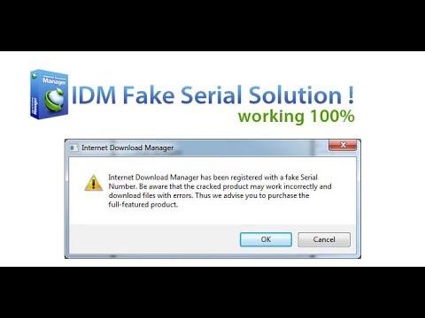 cara menghilangkan pop-up notifikasi fake serial number idm
