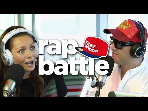 Ricki-Lee raps! Fitzy smashes his chair!