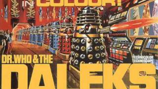 Dr. Who and the Daleks (1965) The Eccentric Dr. Who by Malcolm Lockyer