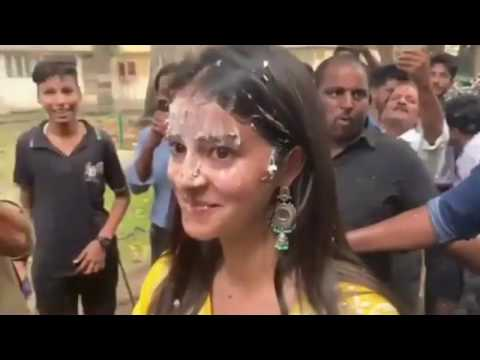 Last Day Shoot Of Pati Patni Aur Woh | Kartik Aaryan & Ananya Pandey's Fun Celebrations Mp3