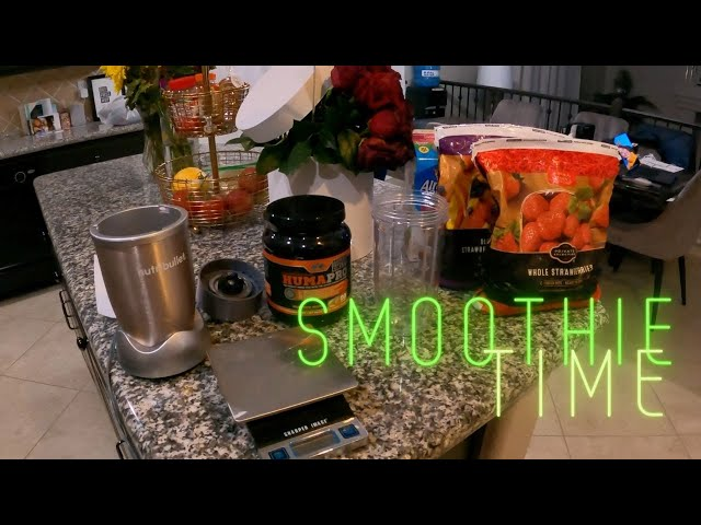 The Perfect Smoothie: Macros Calories 160, Protein 53g, Carbs 33g, Fat 2g!