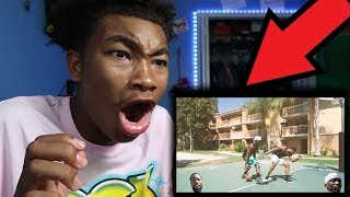 REACTING TO CASHNASTY GETTING HIS ANKLES TAKEN BY BONE COLLECTOR!