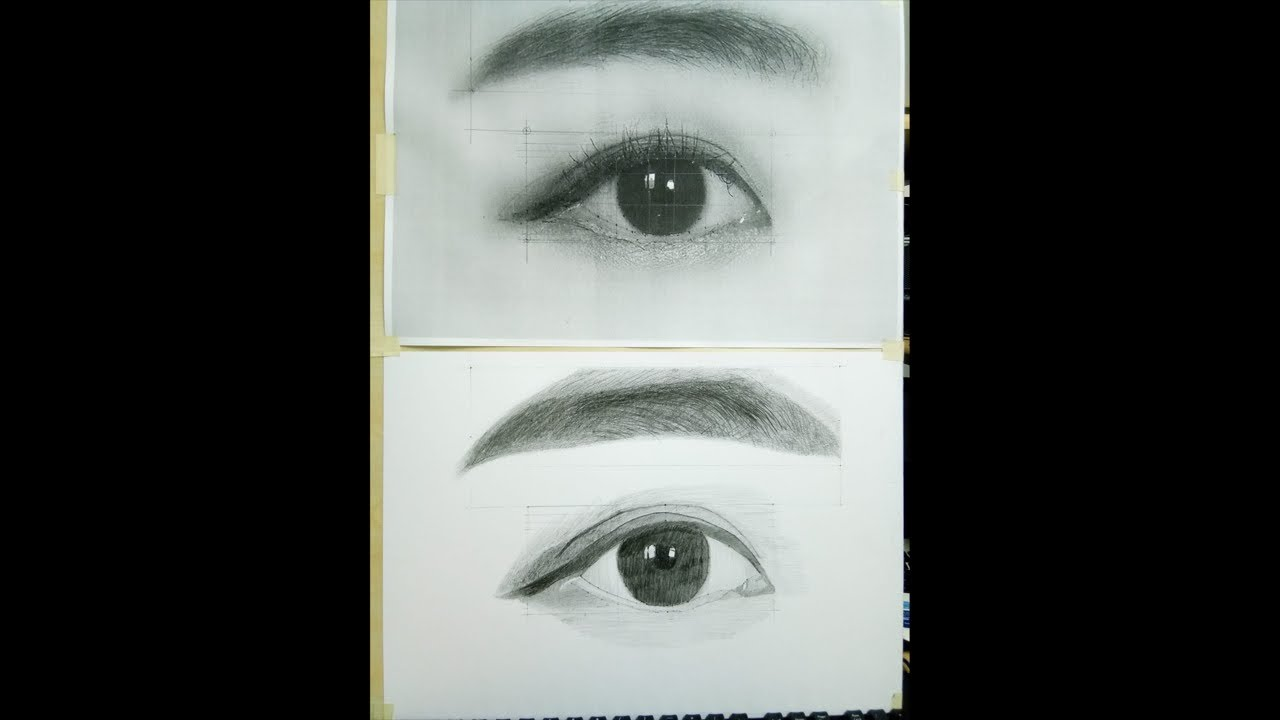 Drawing AZ, Học vẽ chân dung online, bài 97