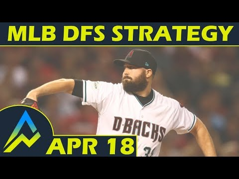 MLB DFS Projections & Strategy | Wednesday 4/18 | FanDuel & DraftKings