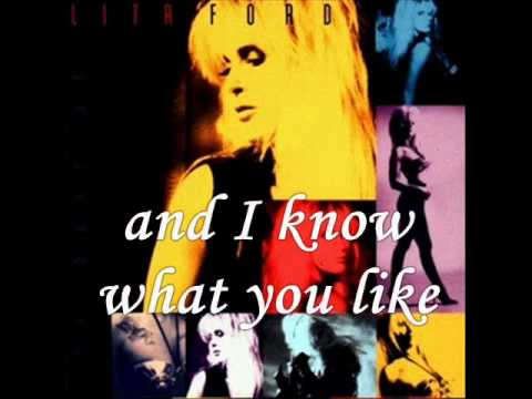 Lita Ford Kiss Me Deadly Lyrics