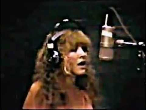 """Leather and Lace"" Stevie Nicks in studio"
