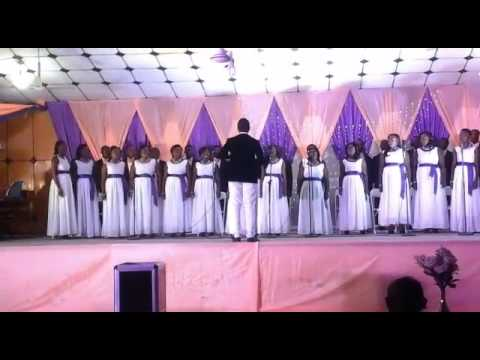Koforidua Youth Choir during our Aseda concert.