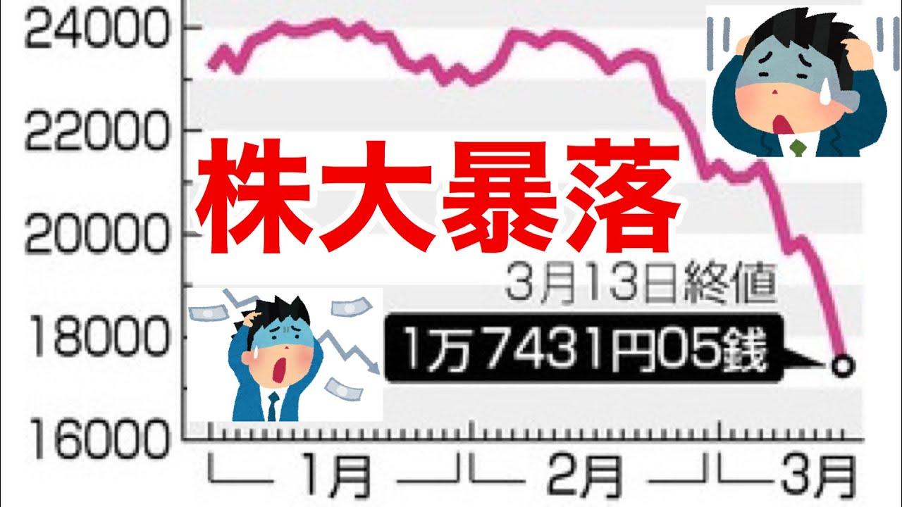株価暴落 ビットコイン