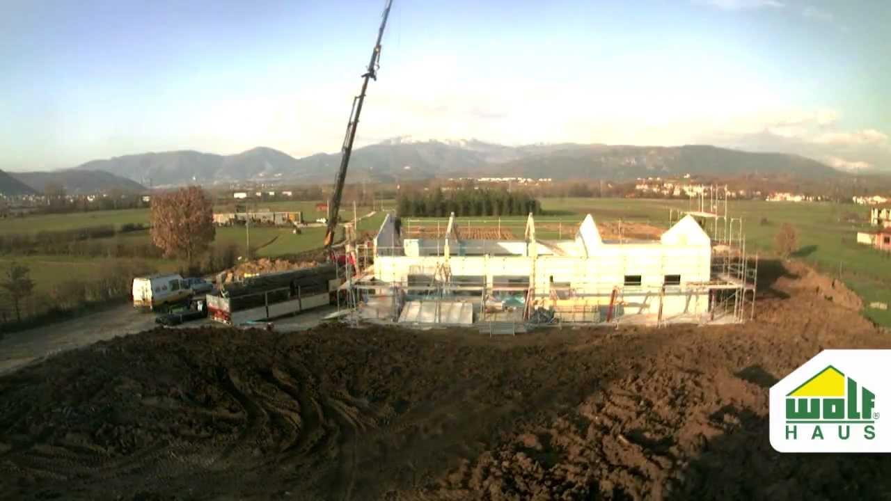 Palestre In Legno Prezzi timelapse palestra prefabbricata in legno wolf haus - centri sportivi in  tempo record!
