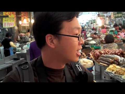 "La Vie Boh...mmm  Seoul  ""Kwang Jang Market With Daniel Gray"""