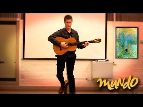 Amazing Mundo Guitar Juggler