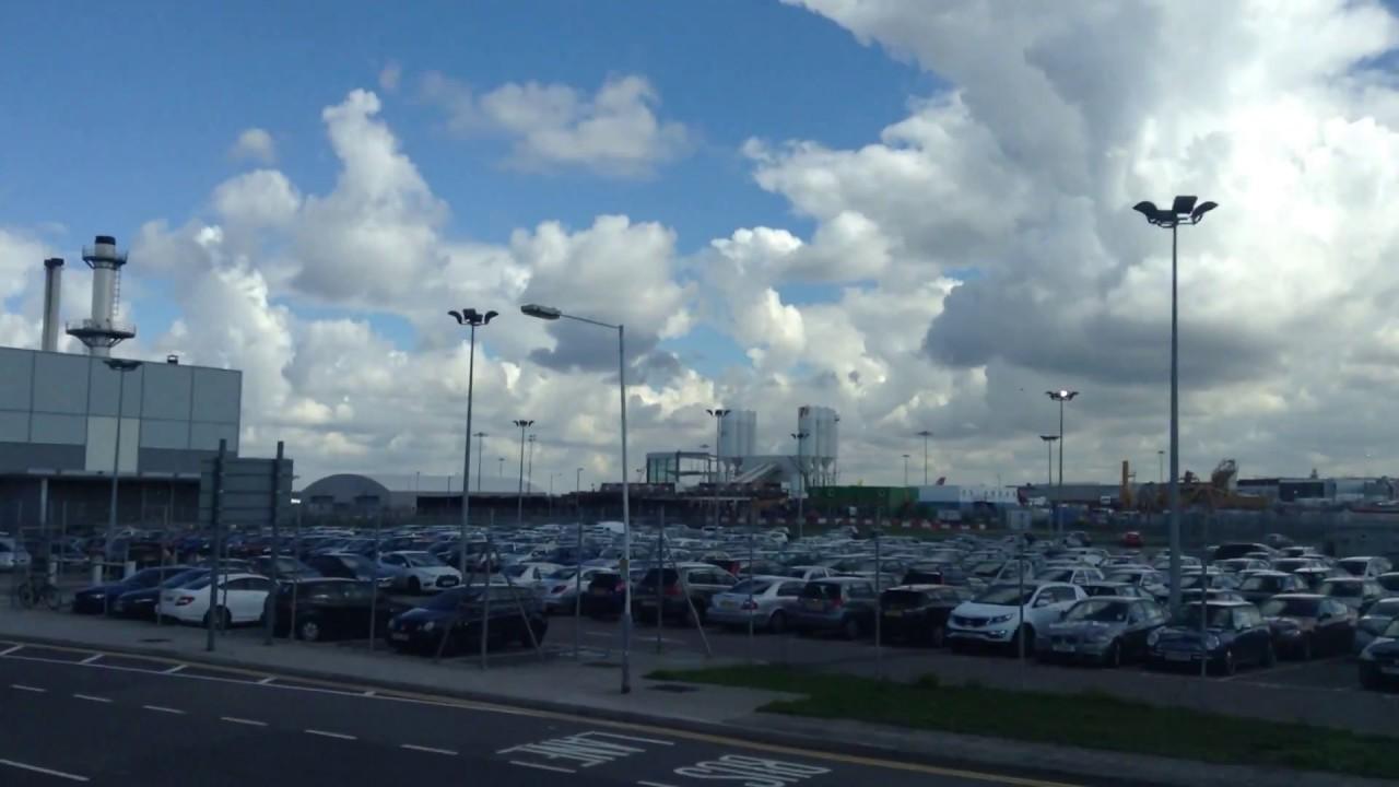 482 Heathrow Terminal 5 To 4 Via Cargo Area You