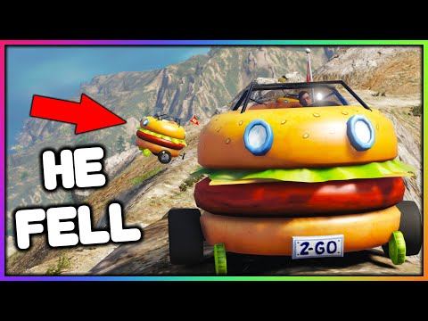 GTA 5 Roleplay - Driving Burgers up a Mountain! | RedlineRP