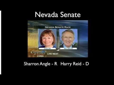 Predictions for Nevada U.S. Senate and Hawaii Governor