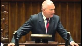 Piotr Polak - wystąpienie z 8 stycznia 2014 r.